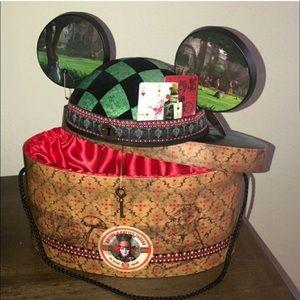 Limited Ed. Disney Mickey Ears Alice Wonderland